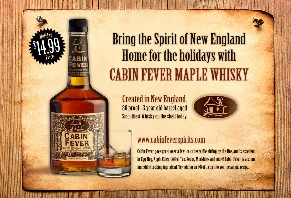 Cabin Fever Magazine Ad