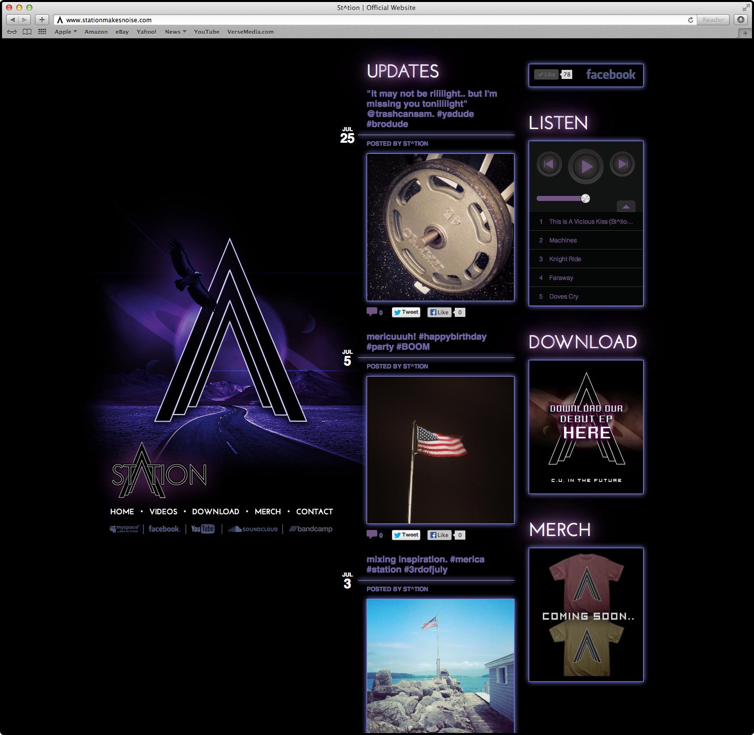 St^tion Website