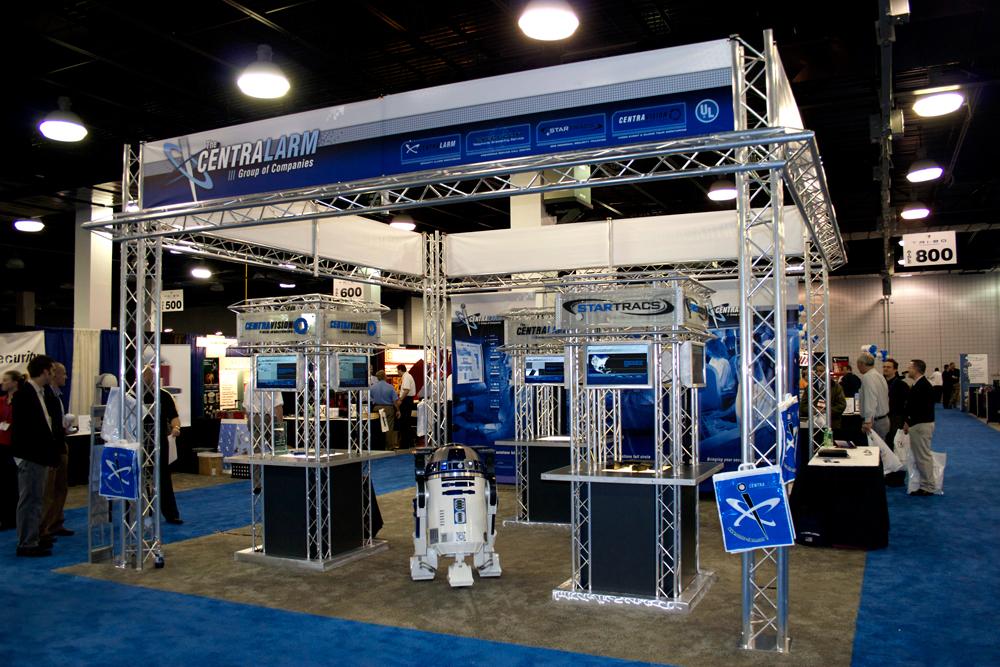 Centralarm Tradeshow Display